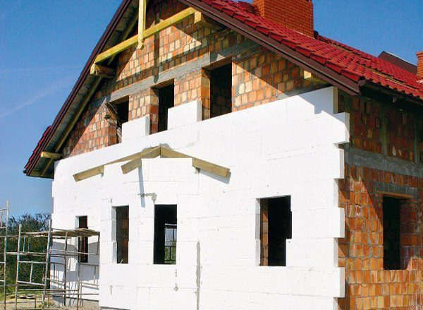 Cost of work on the insulation of facade foam